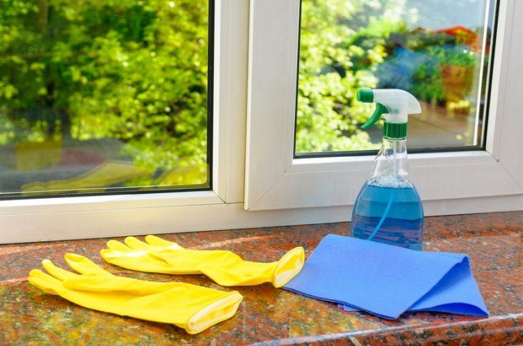 comment entretenir des fenêtre en alu ?